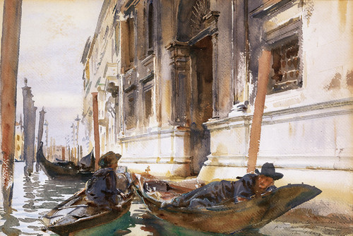Art Prints of Gondoliers Siesta by John Singer Sargent