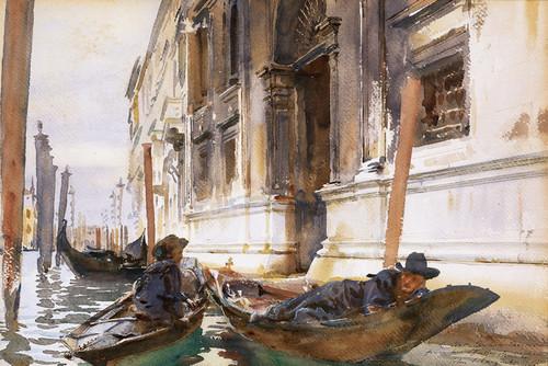 Art Prints of Gondoliers Siesta by John Singer Sargent