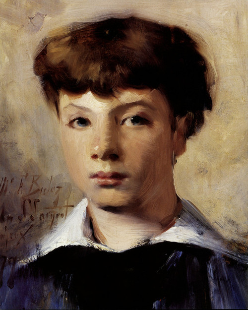 Art Prints of Head of a Child by John Singer Sargent