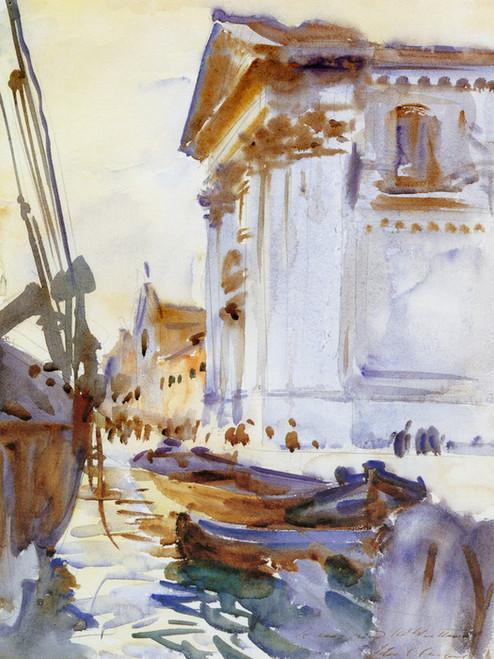 Art Prints of I Gesuati or Santa Maria del Rosario by John Singer Sargent
