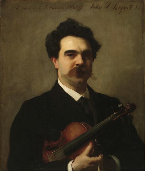 Art Prints of Johannes Wolff by John Singer Sargent