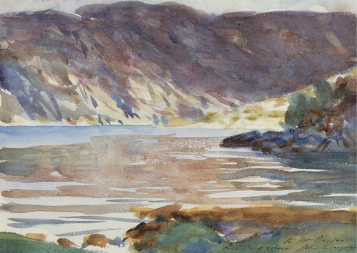 Art Prints of Loch Moidart by John Singer Sargent