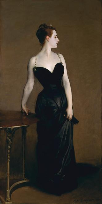 Art Prints of Madame X or Madame Gautrier by John Singer Sargent