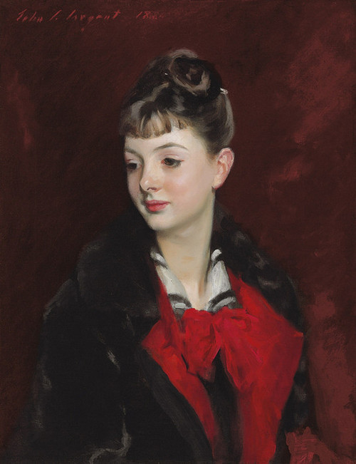Art Prints of Mademoiselle Suzanne Poirson by John Singer Sargent