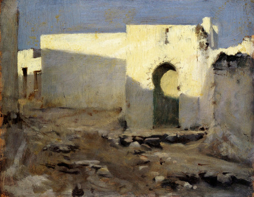 Art Prints of Moorish Buildings in Sunlight by John Singer Sargent
