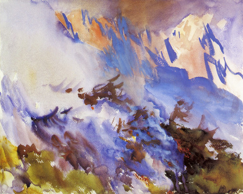 Art Prints of Mountain Fire by John Singer Sargent
