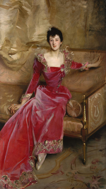 Art Prints of Mrs. Hugh Hammersley by John Singer Sargent