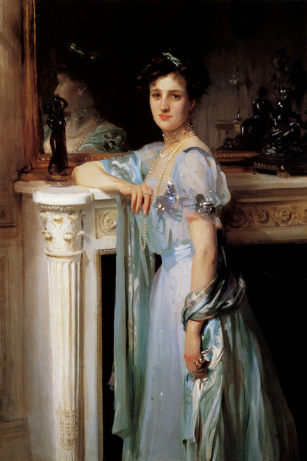 Art Prints of Mrs. Louis Raphael by John Singer Sargent