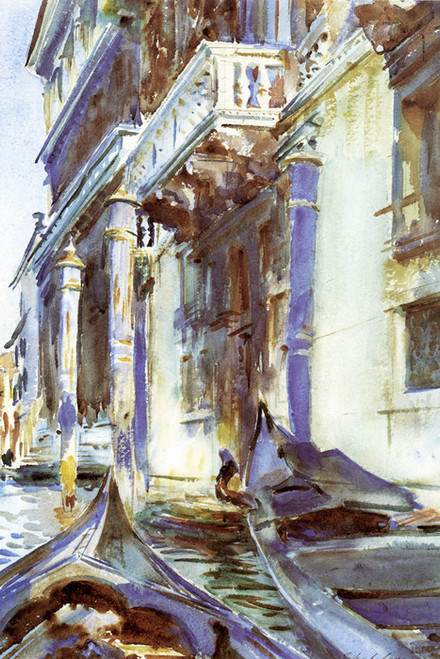 Art Prints of On the Grand canal by John Singer Sargent