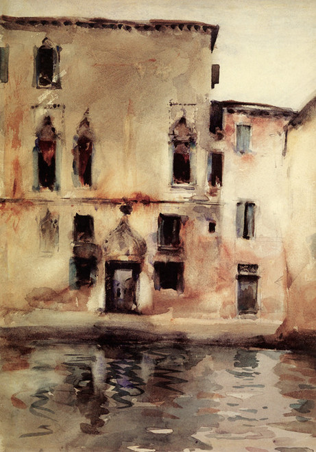 Art Prints of Palazzo Marcello by John Singer Sargent