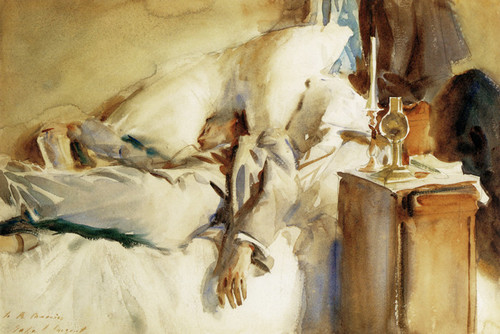 Art Prints of Peter Harrison Asleep by John Singer Sargent