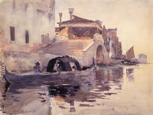 Art Prints of New Bridge Panada by John Singer Sargent