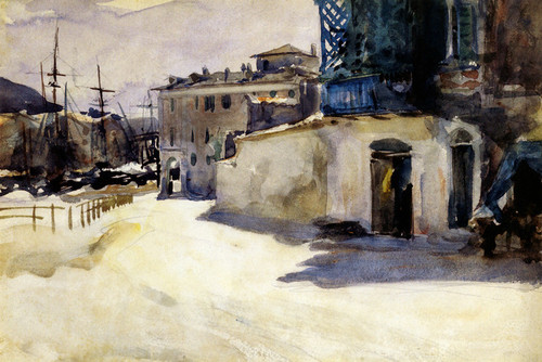 Art Prints of Port Scene II by John Singer Sargent