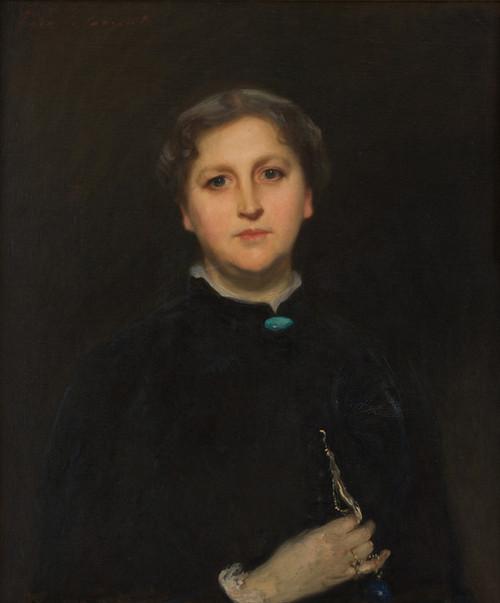 Art Prints of Portrait of Mrs. Raphael Pumpelly by John Singer Sargent