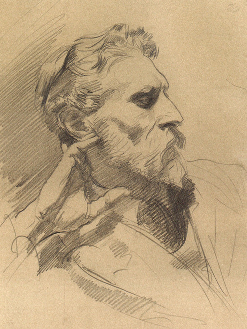 Art Prints of Portrait of Laurence Alexander Harrison by John Singer Sargent