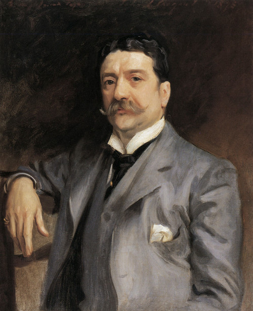 Art Prints of Portrait of Louis Alexander Fagan 1893 by John Singer Sargent