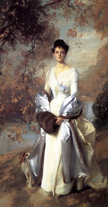 Art Prints of Portrait of Pauline Astor by John Singer Sargent