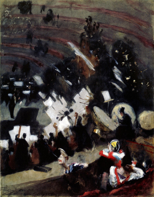 Art Prints of Rehearsal of the Pasdeloup Orchestra by John Singer Sargent