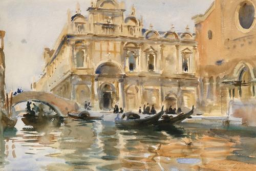 Art Prints of Rio dei Mendicanti, Venice by John Singer Sargent