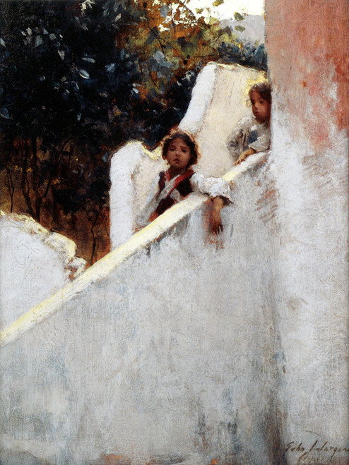 Art Prints of Ricordi di Capri or Memories of Capri by John Singer Sargent
