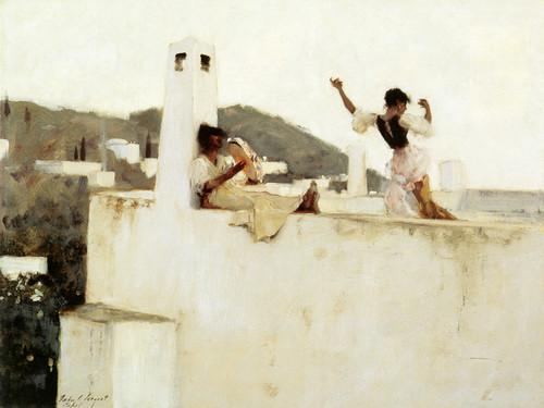 Art Prints of Rosina Ferrara, Capri by John Singer Sargent