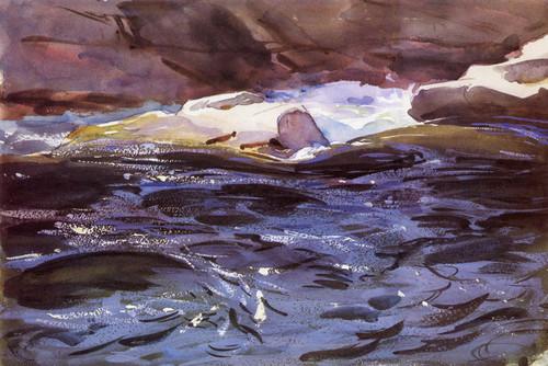 Art Prints of Salmon River by John Singer Sargent