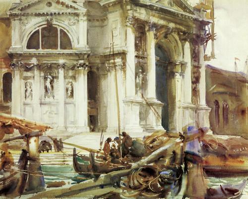 Art Prints of Santa Maria Della Salute II by John Singer Sargent