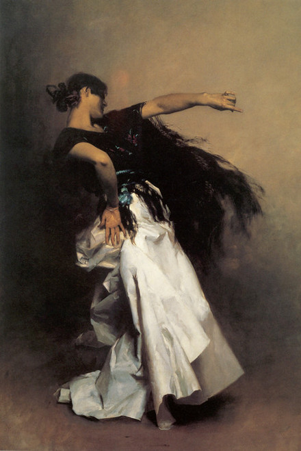 Art Prints of Spanish Dancer by John Singer Sargent