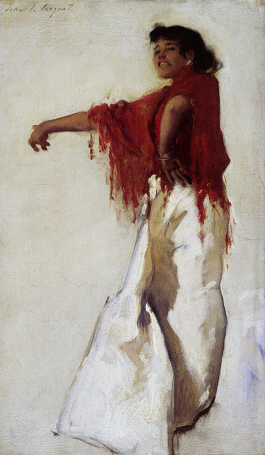 Art Prints of Spanish Gypsy Dancer by John Singer Sargent
