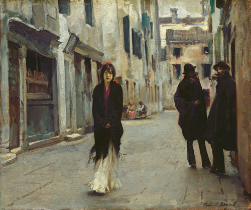 Art Prints of Street in Venice by John Singer Sargent
