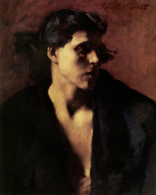 Art Prints of Study of a Model by John Singer Sargent