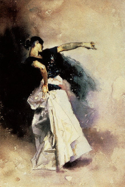 Art Prints of Study for a Spanish Dancer by John Singer Sargent