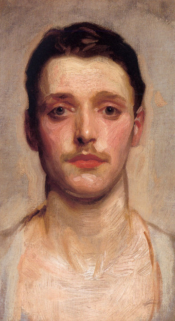 Art Prints of Study of a Young Man by John Singer Sargent