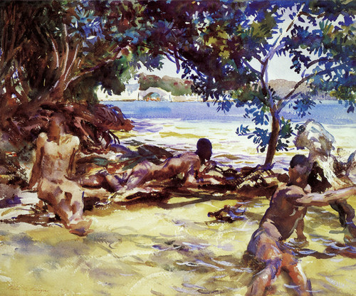 Art Prints of The Bathers by John Singer Sargent