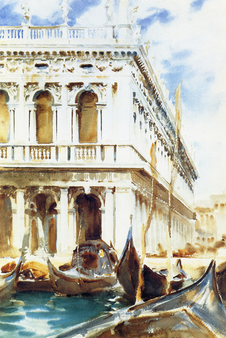 Art Prints of The Libreria or Library by John Singer Sargent