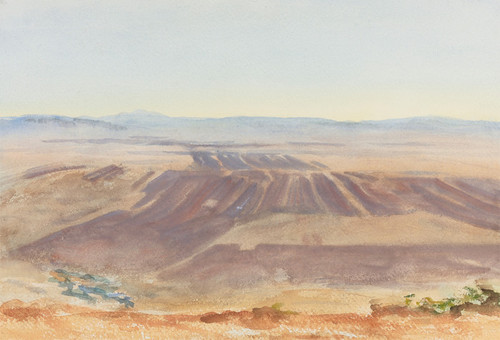 Art Prints of The Plains of Nazareth by John Singer Sargent
