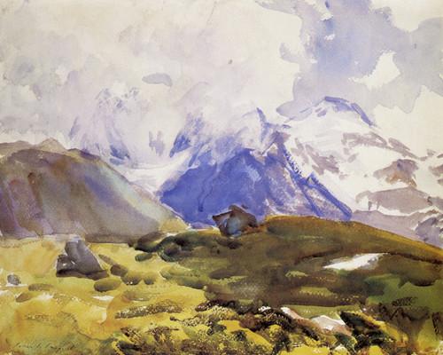 Art Prints of The Simplon by John Singer Sargent