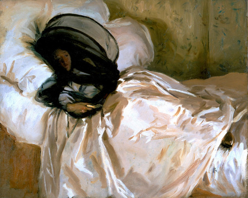 Art Prints of The Mosquito Net by John Singer Sargent