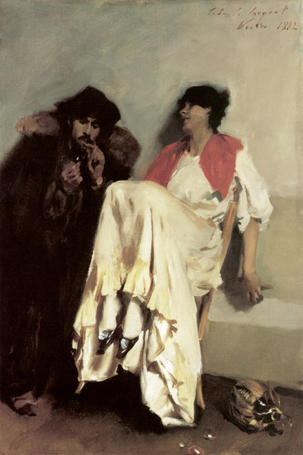 Art Prints of The Sulphur Match by John Singer Sargent