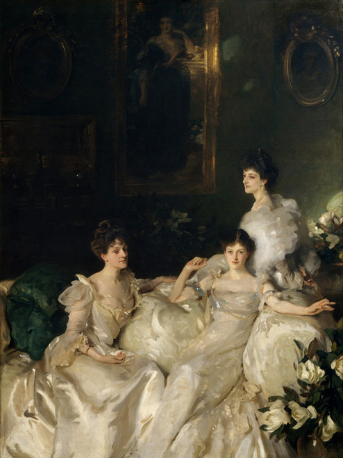 Art Prints of The Wyndham Sisters by John Singer Sargent