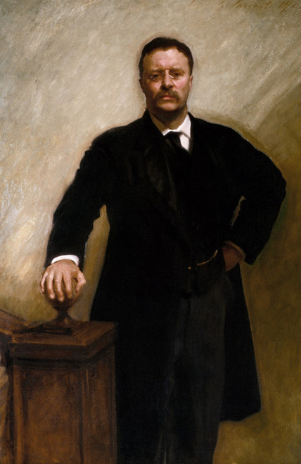 Art Prints of Theodore Roosevelt by John Singer Sargent