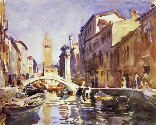 Art Prints of Venetian Canal by John Singer Sargent