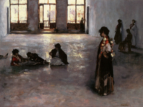 Art Prints of Women in the Palazzo Rezzonico by John Singer Sargent