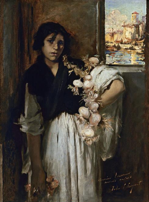 Art Prints of Venetian Onion Seller by John Singer Sargent
