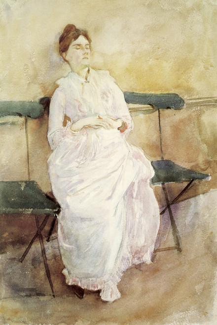 Art Prints of Violet Reclining by John Singer Sargent