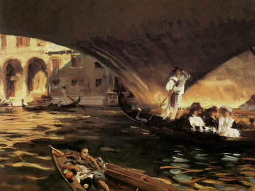 Art Prints of The Rialto by John Singer Sargent
