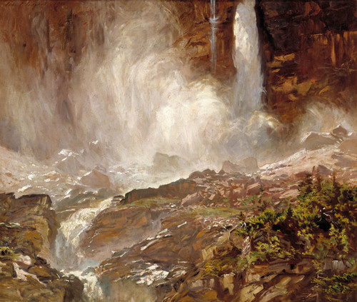 Art Prints of Yoho Falls by John Singer Sargent