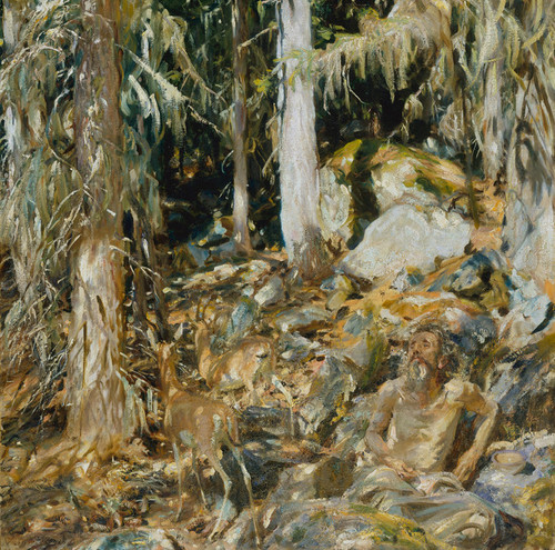 Art Prints of The Hermit by John Singer Sargent