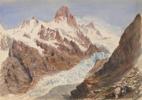 Art Prints of The Schreckhorn by John Singer Sargent