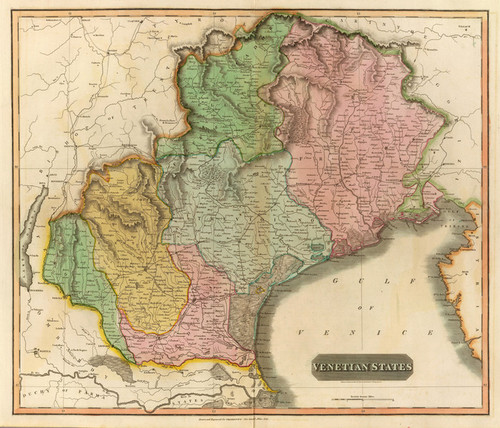 Art Prints of Venetian States, 1816 (1007028) by John Thomson